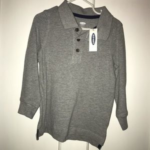Old Navy long sleeve polo 2T